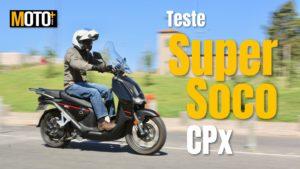 Teste Super Soco CPx – A best  seller das scooters eléctricas thumbnail