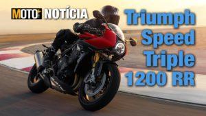 Triumph Speed Triple 1200 RR – A Speed mais sexy de sempre?? (Apresentação Vídeo) thumbnail