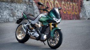 Moto Guzzi V 100 Mandello 2022: Aerodinâmica adaptativa e V2 refrigerado a água thumbnail