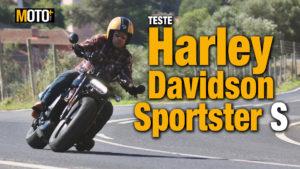 Teste Harley-Davidson Sportster S – O primeiro capítulo da nova saga Sportster (Vídeo) thumbnail