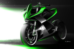 Kawasaki quer tornar-se totalmente elétrica em 2035 thumbnail