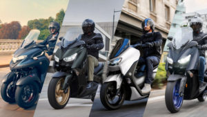 Yamaha apresenta novas cores na gama de scooters e 3 rodas thumbnail