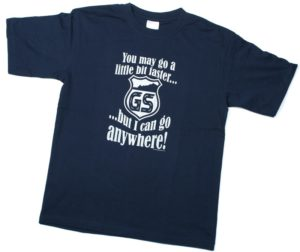 Uma t-shirt para os fãs da BMW GS thumbnail