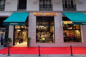 Royal Enfield inaugura Concept Store em Madrid thumbnail