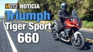 Triumph Tiger Sport 660: Pronta para desafiar a concorrência (Apresentação Vídeo) thumbnail